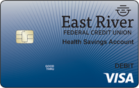 East River FCU's VISA® Health Savings Account Debit Card provides an easy, convenient, and secure way to pay for qualified medical expenses.