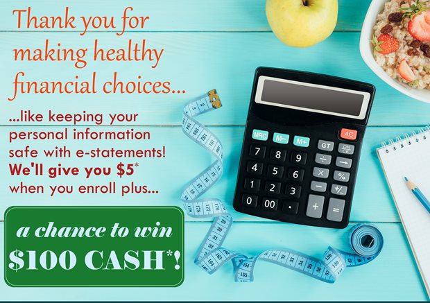 Thank you for making healthy financial choices