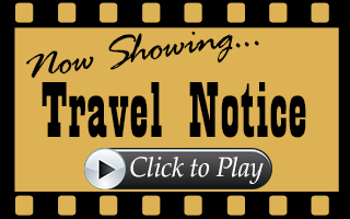 Now showing travel notice. Click to play.